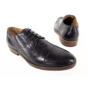 WALLIN & BROS. Mens New 11 M Black Leather Loafers